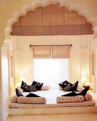 Floor Seating ..Twist in the Majlis | Designingdedesert