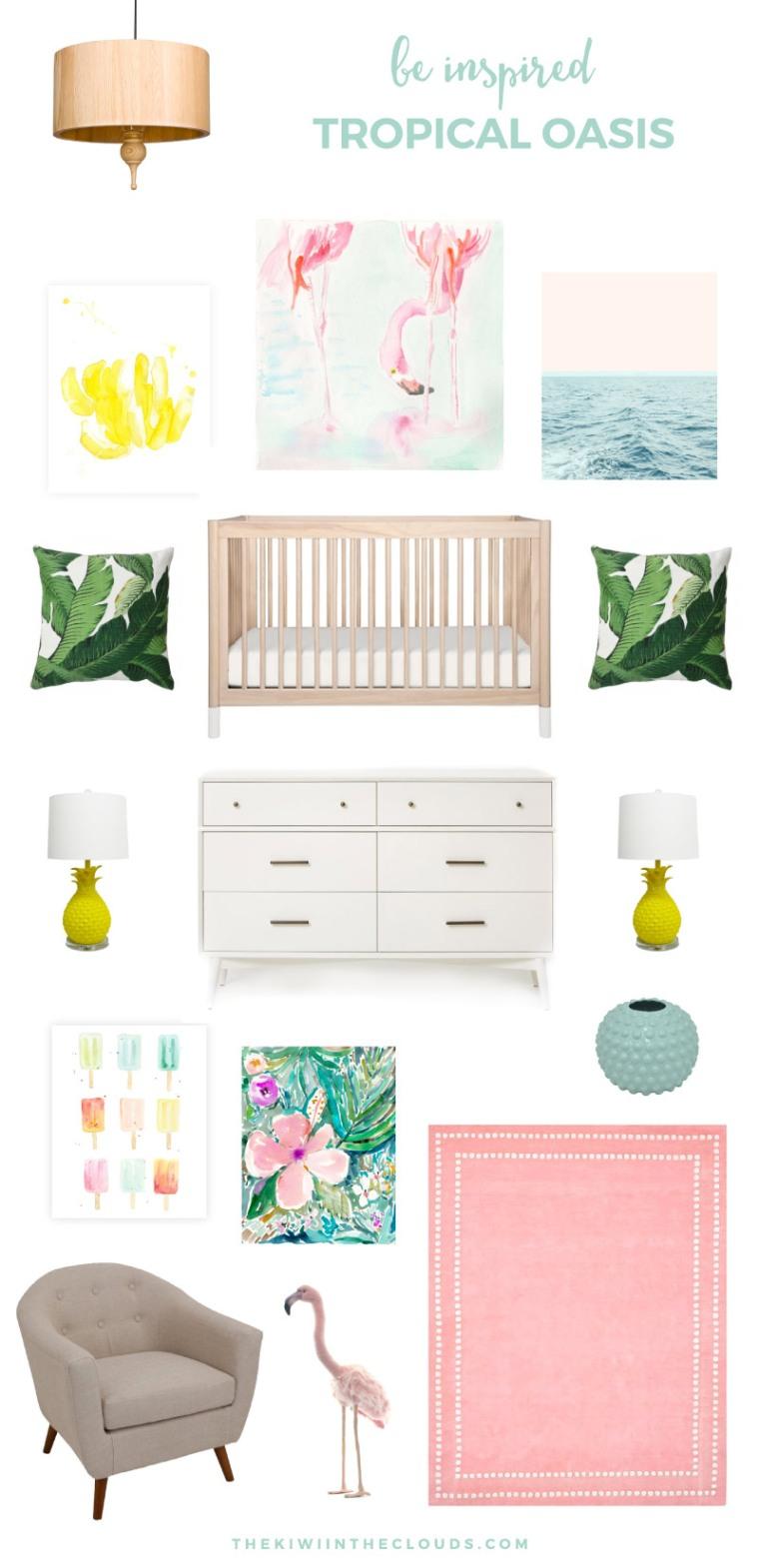 tropical-baby-nursery-for-girls